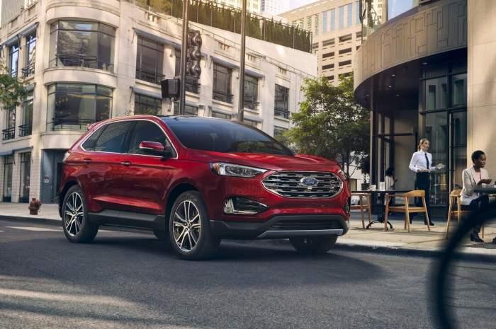 Ford Edge 2020 – Un style qui attire l'attention