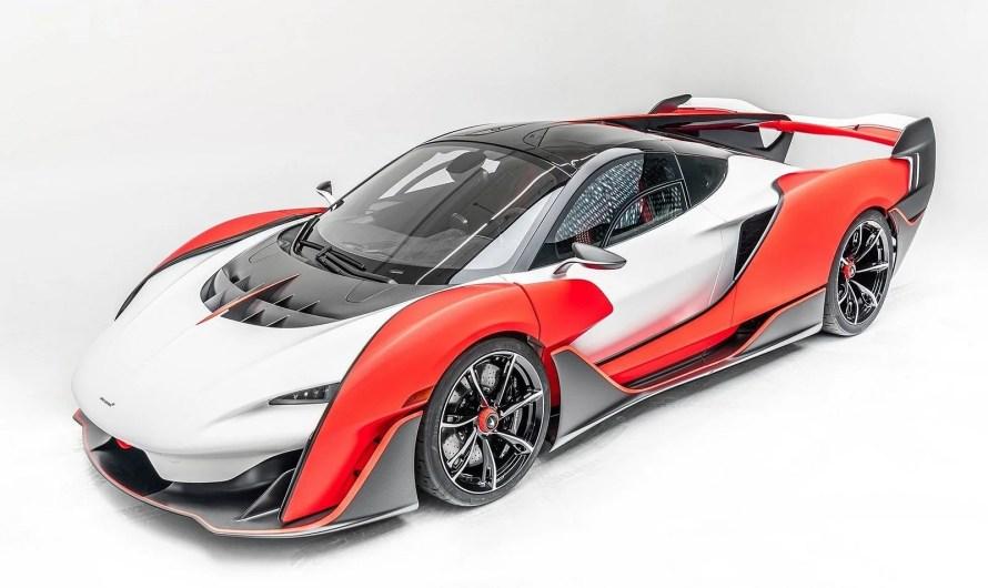 McLaren Sabre MSO 2021 – Seuls 15 exemples seront construits.
