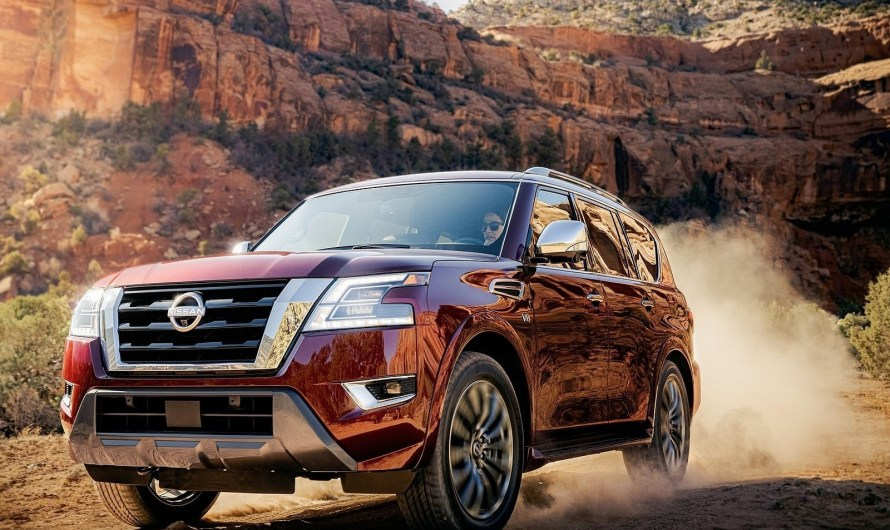 Nissan Armada 2021 – Un look mis à jour et une nouvelle technologie