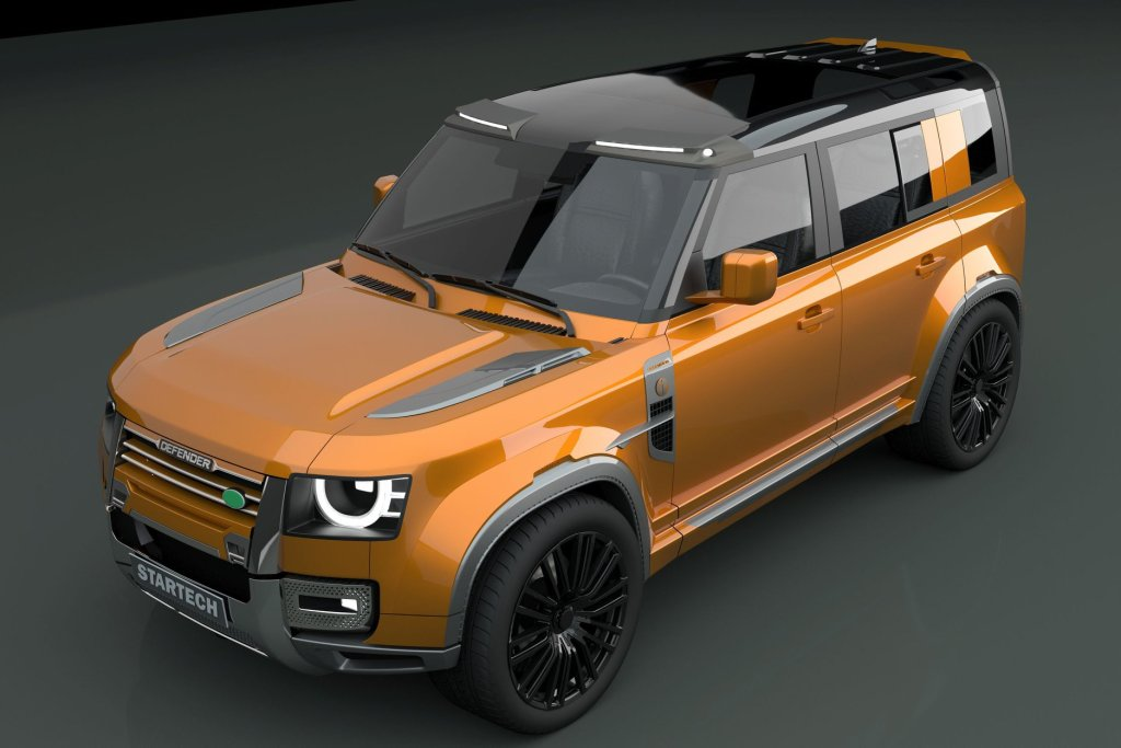 Startech Land Rover Defender 2020 – Un rendus générés par ordinateur