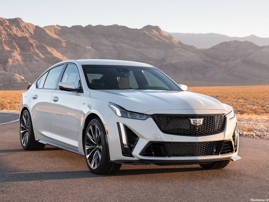 Cadillac CT4-V et CT5-V Blackwing 2022