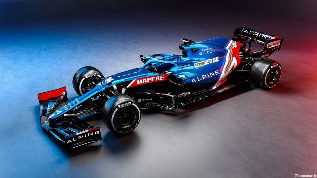 Alpine F1 A521 2021 – La nouvelle monoplace que piloteront Fernando Alonso et Esteban Ocon