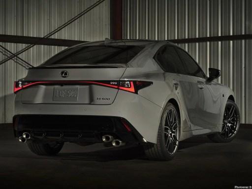 2022 Lexus IS 500 Launch_Edition