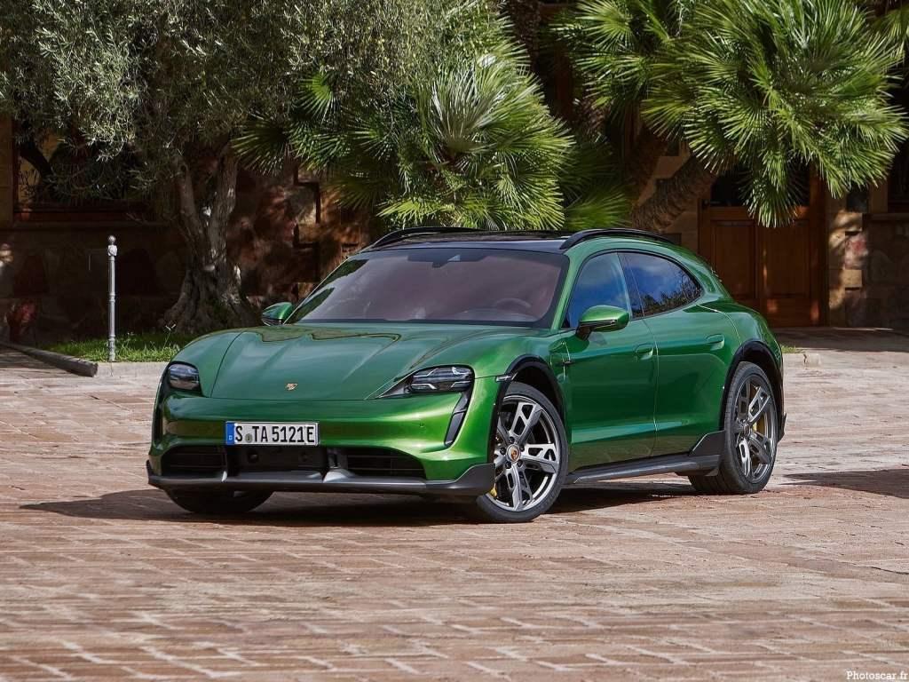 Porsche Taycan Cross Turismo 2022 – Le second modèle 100 % électrique de la marque allemande