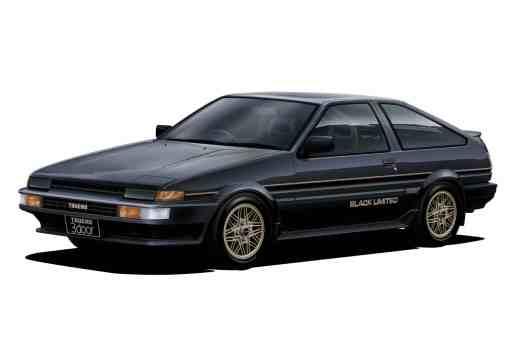 Toyota AE86 Sprinter Trueno GT Apex Black Limited