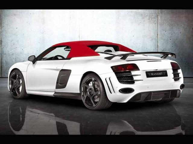 2012 Mansory Audi R8 V10 Spyder