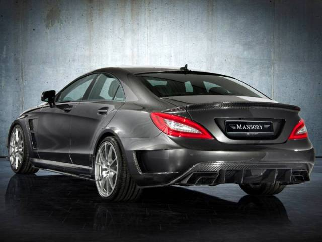2012 Mansory - Mercedes CLS63 AMG