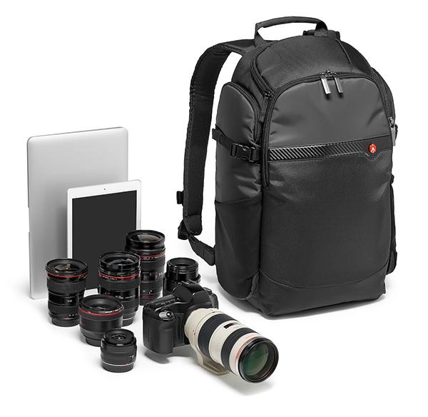 Rucsacul foto Manfrotto Advanced Befree ideal pentru călătorii
