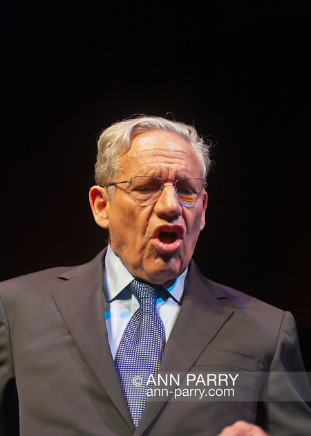 Hempstead, NY, U.S. March 20, 2012. BOB WOODWARD, investigative journalist, talks about the Watergate political scandal during its 40th Anniversary, at Hofstra University. (© 2012 Ann Parry/Ann-Parry.com)