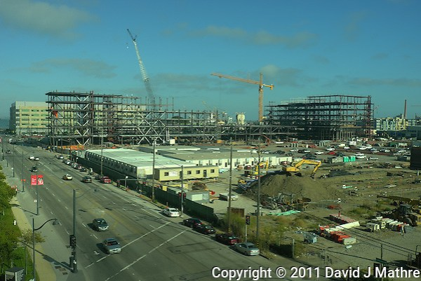 UCSF Medical Center Construction Site. Image taken with a Leica X1 (ISO 100, 24 mm, f/2.8, 1/2000 sec). (David J Mathre)