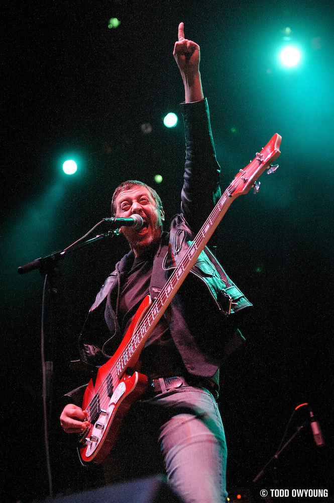 Photos of the band Wild Tiger performing at the Pageant in St. Louis on February 4, 2011. (© Todd Owyoung)
