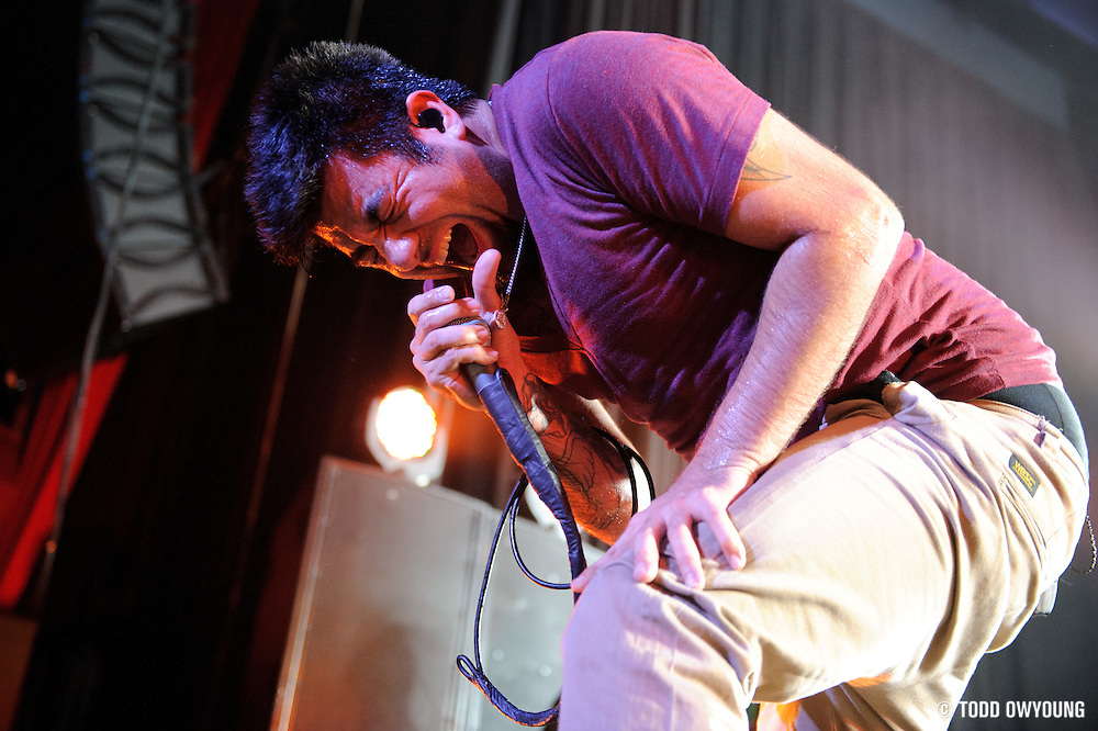 Photos of the band Deftones performing live at the Pageant in St. Louis on April 26, 2011. (Todd Owyoung)