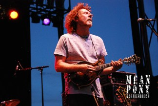 Sam Bush @ The Way Out West Fest, Snowbasin, Utah (Steven Wittenberg)