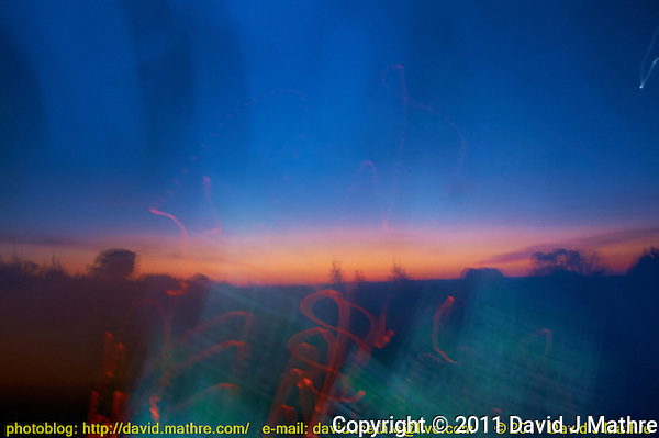 New Jersey Sunrise. Image taken with a Nikon D700 and 28-300 mm VR lens (ISO 400, 28 mm, f/22, 30 sec) (David J Mathre)