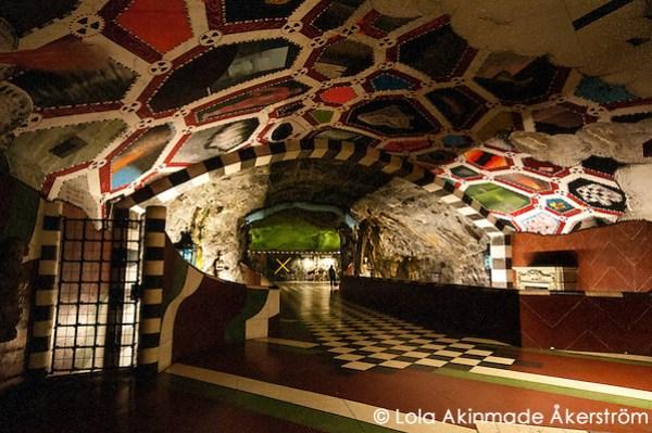 Stockholm Underground Subway Art (Lola Akinmade Åkerström)