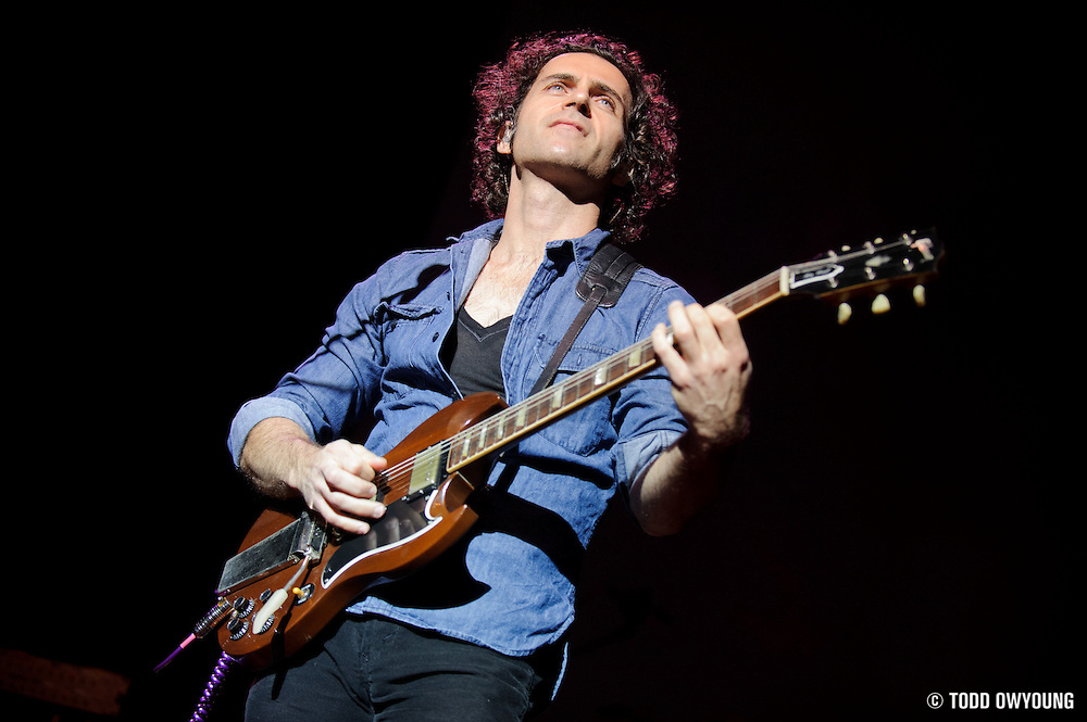 Photos of Dweezil Zappa and Zappa Plays Zappa performing at the Pageant in St. Louis on December 8, 2010. (TODD OWYOUNG)