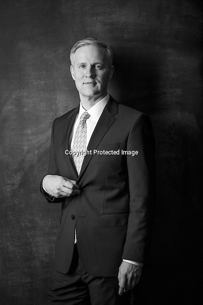Portrait of Mike Malone with Northwest Arkansas Council for AY Magazine's powerful men. Photo by Beth Hall (Beth Hall)
