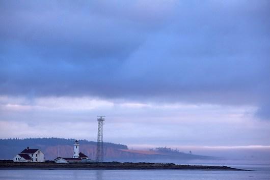 Point Wilson Lighthouse, Fort Worden State Park, Port Townsend, Washington