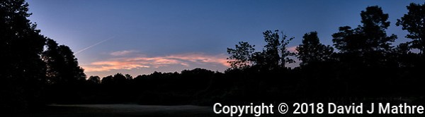 Early Dawn Panorama. Composite of three image taken with a Leica CL camera and 18 mm f/2.8 lens (DAVID J MATHRE)