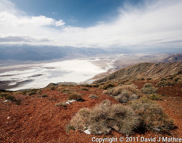 Panorama from Dante's View, Death Valley National Park. Composite of 4 images taken with a Nikon D3x and 24 mm PC-E lens (ISO 100, 24 mm, f/16, 1/100 sec). Panorama created using  AutoPano Giga Pro. (David J Mathre)