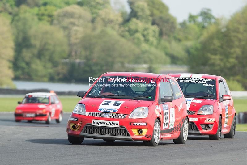 #25 Andrew Christie, Ford Fiesta ST during BRSCC XR Challenge and Scottish Fiesta Championship
