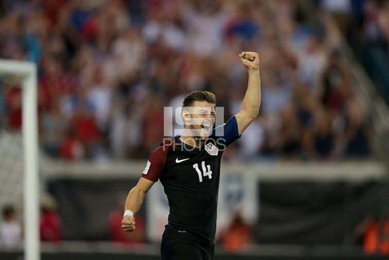 Jacksonville, FL - September 6, 2016: The U.S. Men's National team defeat Trinidad & Tobago 4-0 with Paul Arriola contributing a goal during a World Cup Qualifier (WCQ) match at EverBank Field. (John Dorton/isiphotos.com)