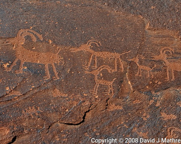 Sand Island Petroglyphs. Image taken with a Nikon D3 and 70-200 mm f/2.8 VR lens (ISO 200, 200 mm, f/11, 1/250 sec) (David J Mathre)