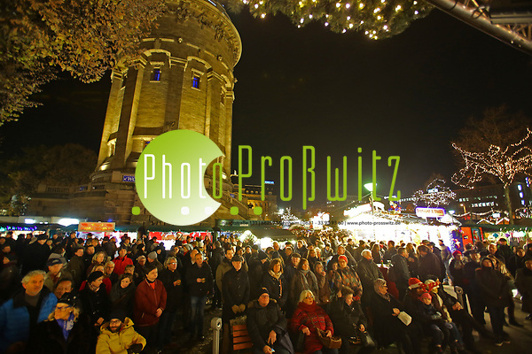 Mannheim. 28.11.18 | Innenstadt. Am Wasserturm.Traditioneller Weihnachtsmarkt. Impressionen 2018. Bild-ID 065 | Markus Proßwitz 28NOV18 / masterpress (Markus Prosswitz / masterpress)