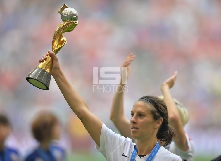 Vancouver, Canada - Sunday, July 5, 2015: The USWNT defeat Japan 5-2 to win the 2015 FIFA Women's World Cup Final at BC Place. (John Todd/isiphotos.com)