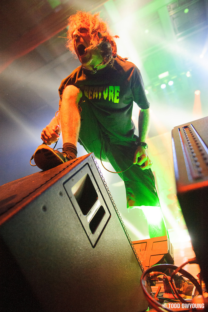 Lamb of God performing at the Pageant in St. Louis on November 7, 2012. (Todd Owyoung)