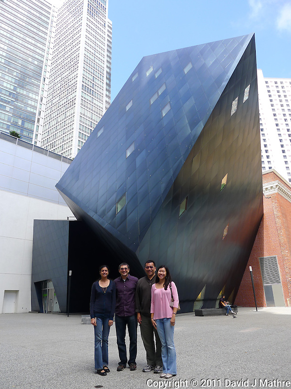 "Last Visit with my Sirna San Francisco Group. Outside the Contemporary Jewish Museum ""The Yud"". Image taken with a Leica D-Lux 5 camera (ISO 80, 5 mm, f/2.8, 1/320 sec). (© 2011 David J Mathre)"