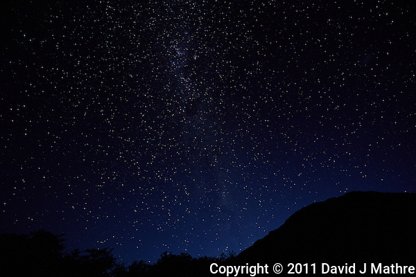 Night Sky in Patagonia. Hosteria El Pilar, El Chalten, Argentina. Image taken with a Nikon D3x and 16 mm f/2.8 fisheye lens (ISO 400, 16 mm, f/4, 30 sec) (David J Mathre)