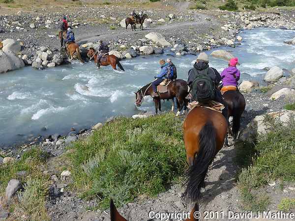 Hike and Equitrekking from Hotel Las Torres to Mrador Las Torres in Torres del Paine National Park. Image taken with a Leica D-Lux 5 Camera (ISO 80, 7.5 mm, f/4, 1/500 sec). (David J Mathre)