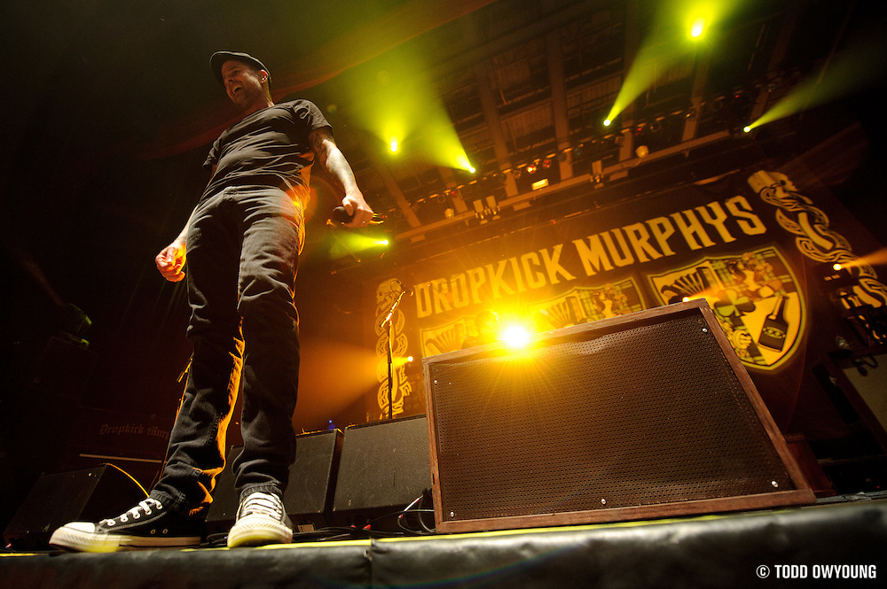Photos of the band Dropkick Murphys performing live at the Pageant in St. Louis on March 5, 2011. (Todd Owyoung)
