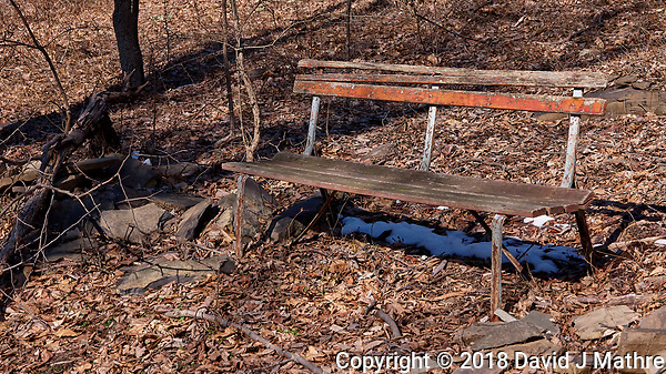 Lonely Bench. Image taken with a Leica CL camera and 18-56 mm lens (David J Mathre)