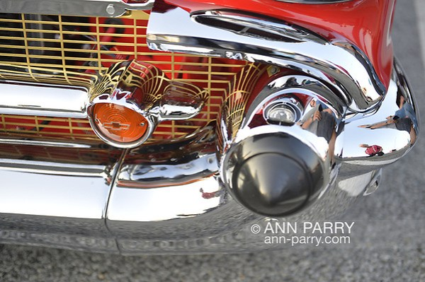 Bellmore, New York, USA. August 24, 2018. Hundreds of classic and custom cars are on display at Bellmore Friday Night Car Show, in parking lot of LIRR Bellmore station. (Ann Parry/Ann Parry, ann-parry.com)