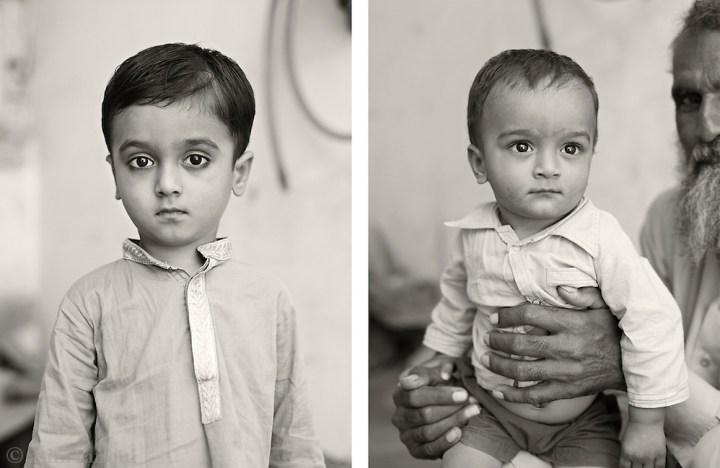 Victim: Mohammed Imran..Survivor: Nasreen Imran, Ali Imran (4) and Mohammed Farooq (1) (Asim Rafiqui)