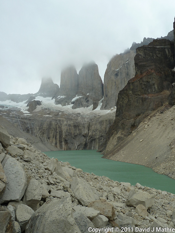 Mirador Las Torres. Hike and Equitrekking from Hotel Las Torres to Mrador Las Torres in Torres del Paine National Park. Image taken with a Leica V-Lux 20 Camera (ISO 80, 4.1 mm, f/5.6, 1/100 sec). Image taken by Robert Noonan. (David J Mathre)