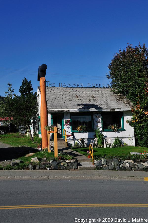 Hammer Museum, Haines Alaska. Image taken with a Nikon D300 camera. (David J. Mathre)
