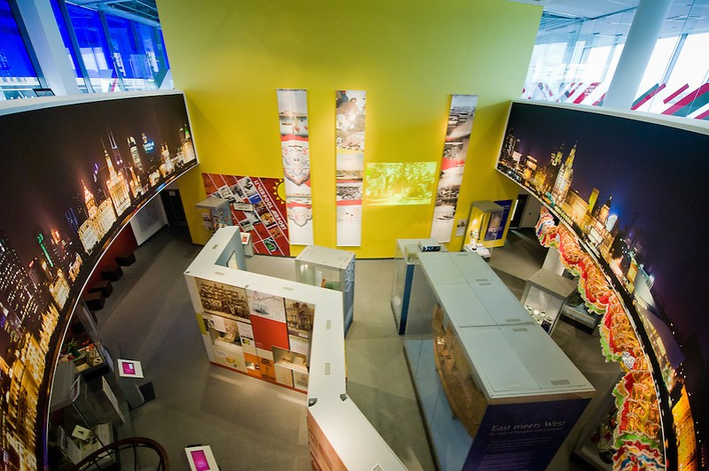 The Global City gallery inside the Museum of Liverpool. (Pete Carr)