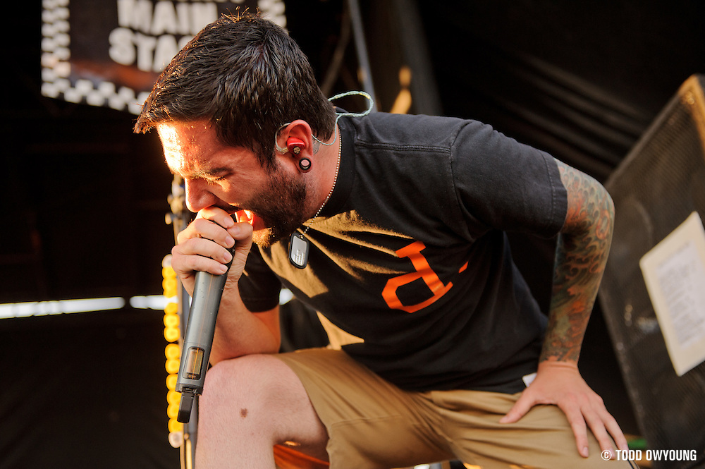A Day To Remember performing on Warped Tour at Verizon Wireless Amphitheater in St. Louis, Missouri on August 3, 2011. © Todd Owyoung. (Todd Owyoung)