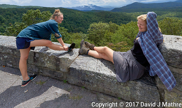Rest stop along the Blue Ridge Parkway in North Carolina. Image taken with a Leica T camera and 11-23 mm wide-angle zoom lens (David J Mathre)