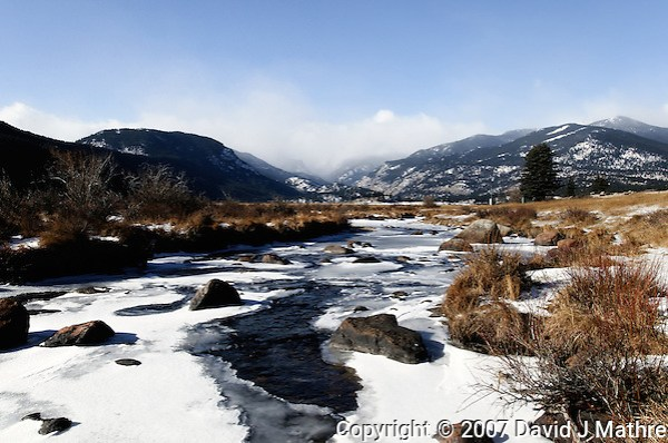 Big Thompson River, Moraine Park, Rocky Mountain National Park. (David J Mathre)