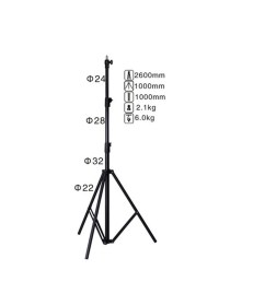 nicefoto ls 260at air cushioned heavy duty light stand max hei 46 00 [ 1300 x 1300 Pixel ]
