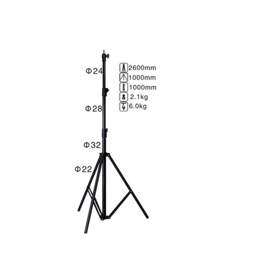 small resolution of nicefoto ls 260at air cushioned heavy duty light stand max hei 46 00