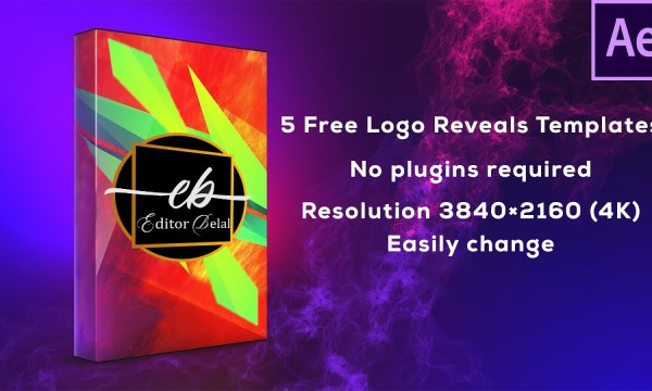 5 Free Logo Reveals Templates for After Effects - FREE After Effects Intro Templates