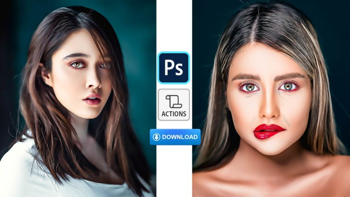 New Oil Painting Photoshop Action