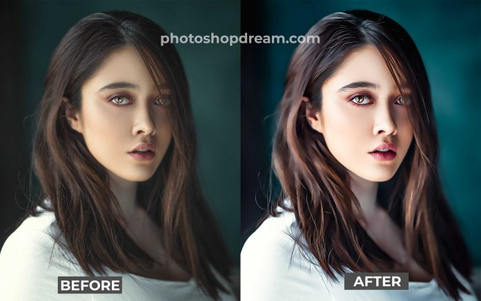 Oil Painting Photoshop Action 2021