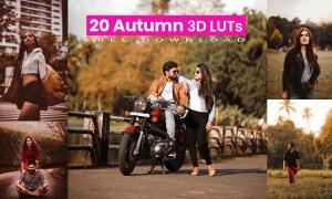 Autumn 3D LUTs Pack