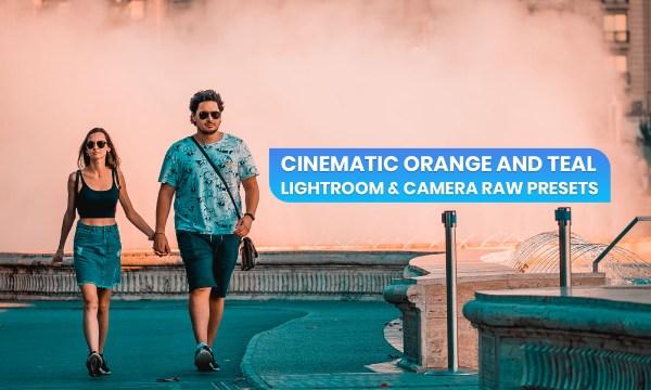 New 20 Cinematic Orange and Teal Preset